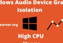 windows audio device graph isolation