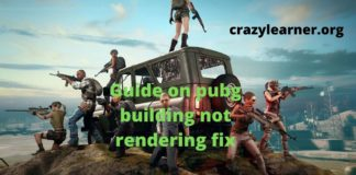 Pubg building Not Rendering Fix